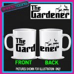 THE GARDENER LOVES GARDENING MUG GREEN FINGER